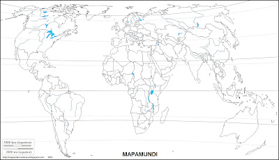 Mapa mudo, mapamundi 