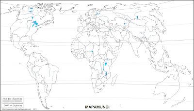 Mapa mudo, mapamundi