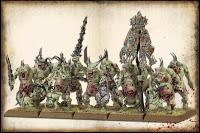 Warhammer Portadores de plaga de los demonios del caos