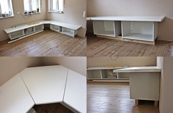Wir bauen ein Haus: Ikea Hack Tutotrial - Essecke | Fashion Kitchen ...