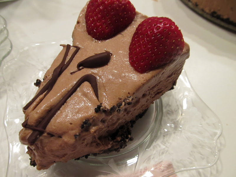 Apron Afternoons: Valentines Dessert: Chocolate Espresso Semifreddo