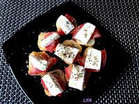 Bocadito de tomate y queso