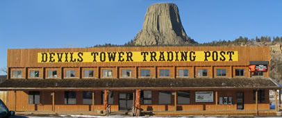 Devils Tower Trading Post:  Where *free WiFi* isn't free when it comes with $4 ice cream cones