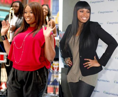 jennifer hudson antes e depois de perder peso