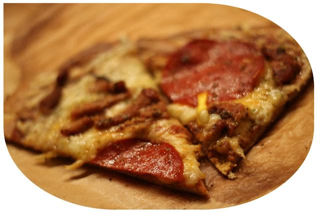 Lavkarbo pizzabunn