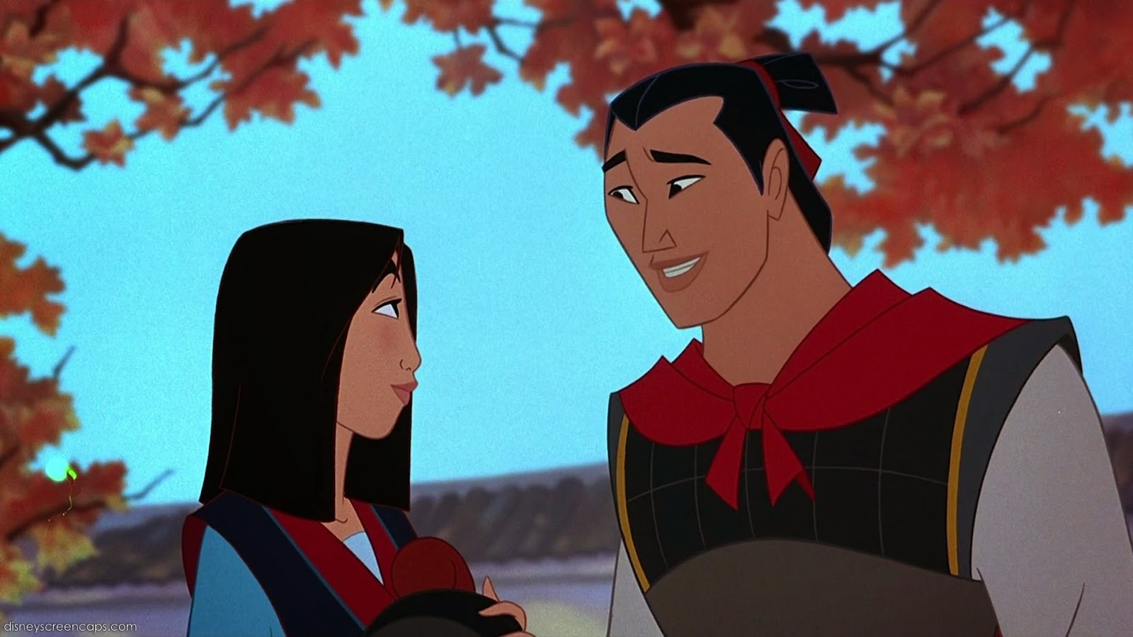 so this is love our disney otps the fangirl initiative mulan li shang i feel like this is one couple that s often overlooked but because i m a fan of mulan these two deserve a mention