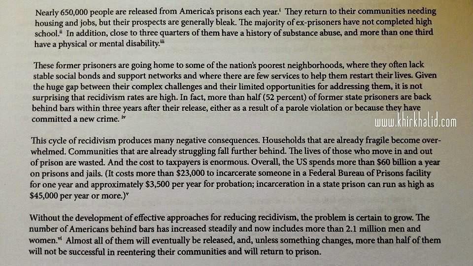 Fakta Banduan di Amerika Syarikat