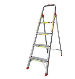 Ladder (Invention),Aluminium 3 Steps Ladder 4.2 ft Unboxing & Review,unboxing,hands on,reivew,heavy duty ladder,Aluminium Ladder commercial,home use ladder,steps,120kg,light wieght ladder,5 feet ladder,6 feet lader,price,4 feet ladder,unboxing,hands on,review,specification,3 Steps and 1 Platform.,Safe Load 120 Kgs