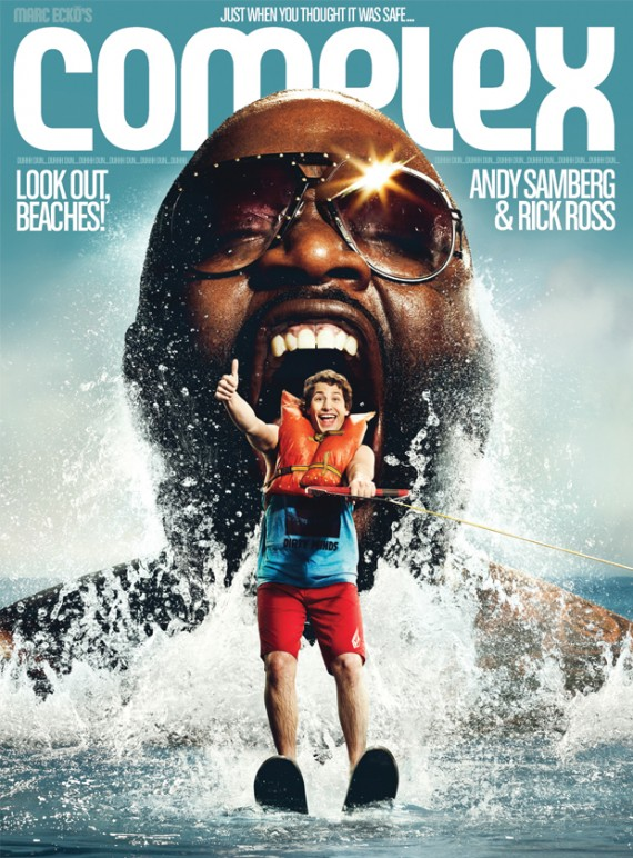 rick ross vibe magazine. Rick Ross + Andy Samberg