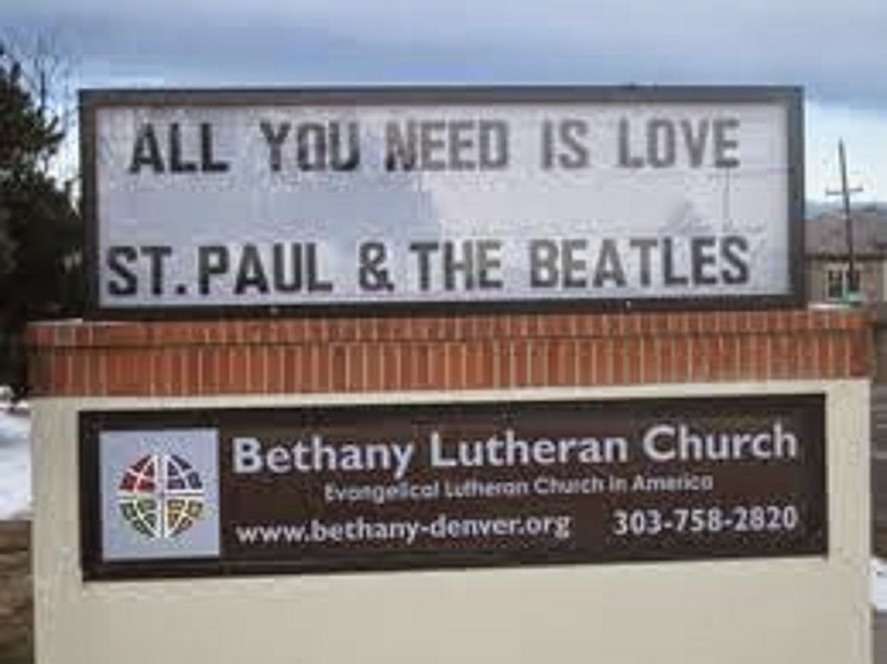THE GOSPEL ACCORDING TO ST. PAUL AND THE BEATLES