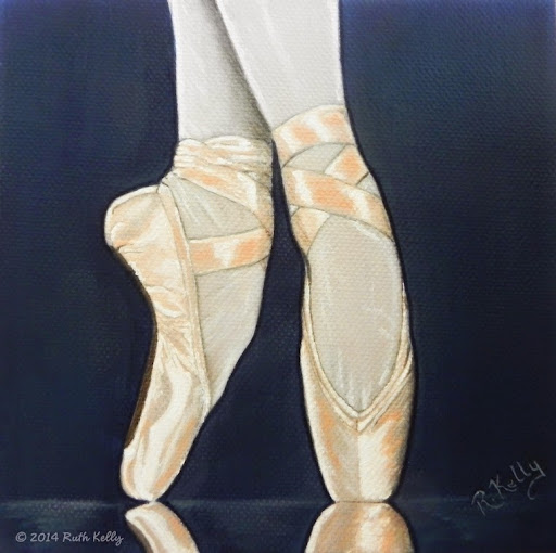 Pointe Shoes by Ruth Kelly, www.ruths-world.com