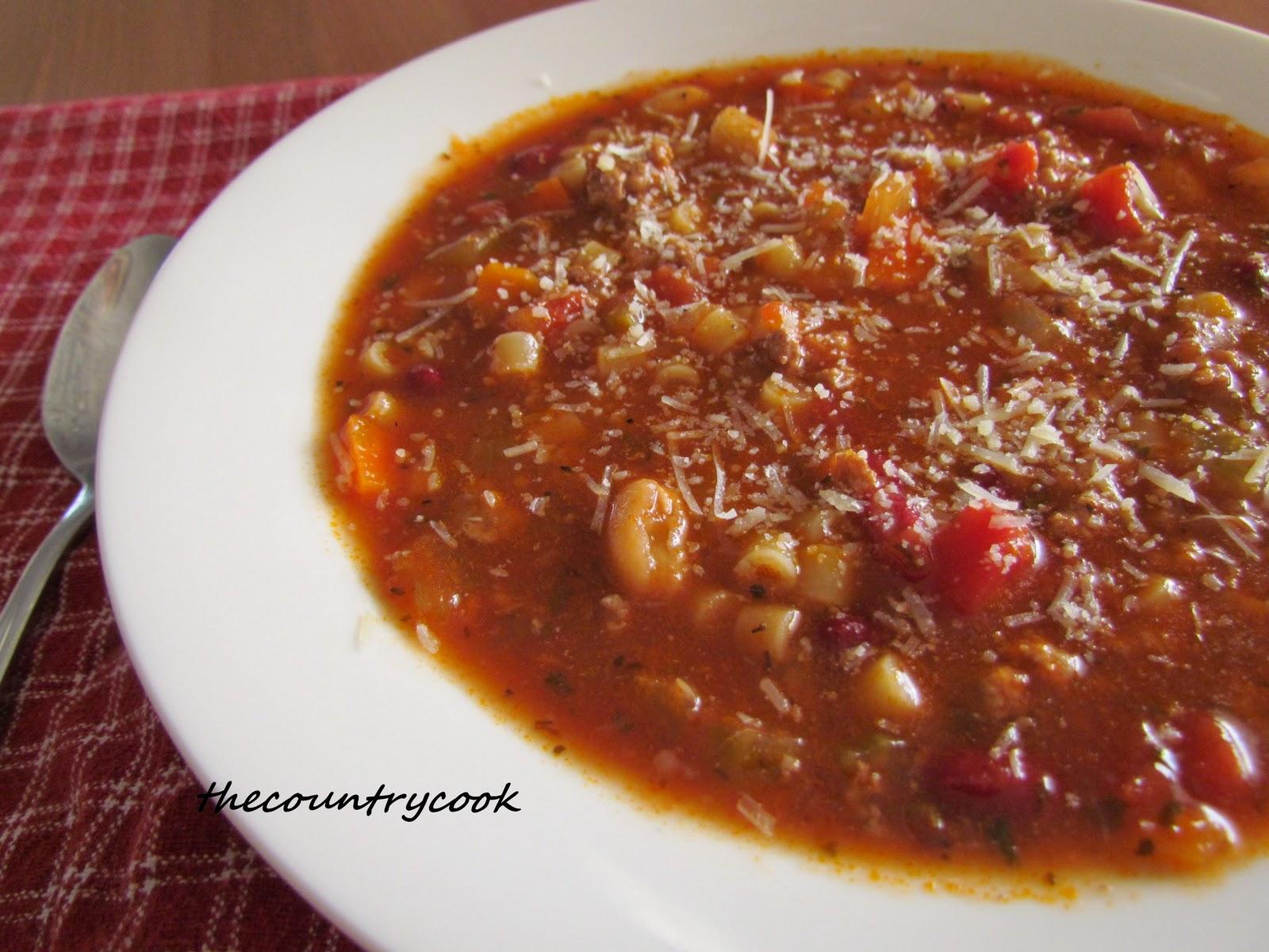 Pasta Fagioli Soup {Slow Cooker} | Great Recipe Ideas