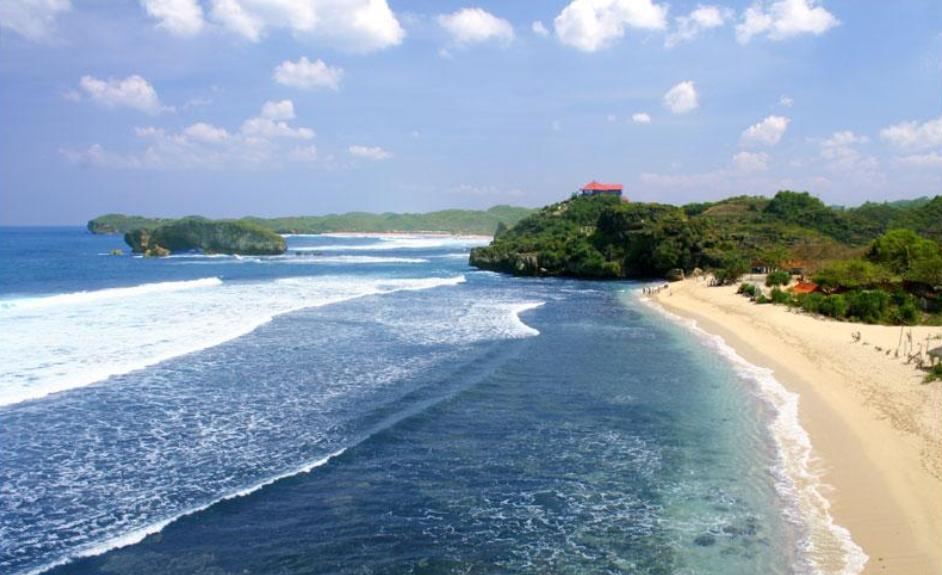 Foto Keindahan Pantai Parangtritis Yogyakarta, Pantai Parangtritis, yogyakarta