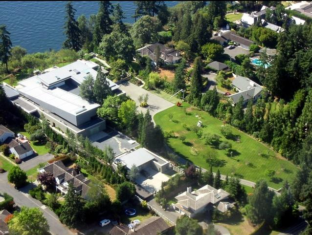 Homes Of Hollywood Celebrities Bill Gates Home In Medina Washiongton