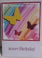 Rainbows and Butterflys Card