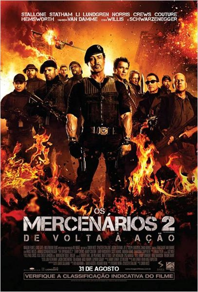 Os Mercenários 2 R5 XviD Dual Audio & RMVB Dublado