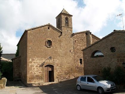 L'església de Sant Salvador de Brics