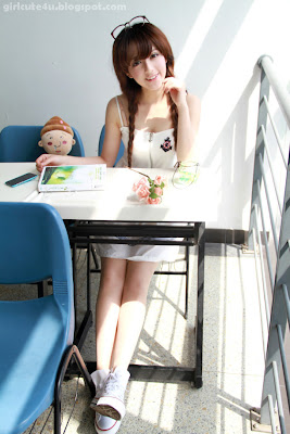 Wang Meng - Small fresh-very cute asian girl-girlcute4u.blogspot.com
