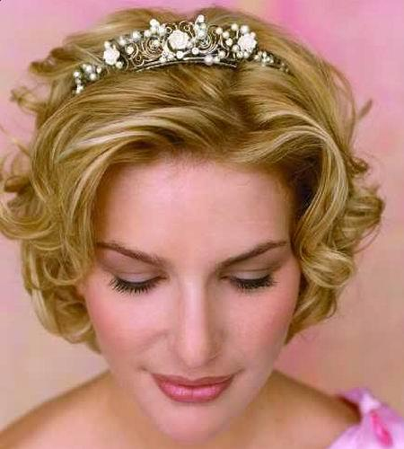 Short Hair Additional Tips For A Romantic Wedding Hairstyle Bride