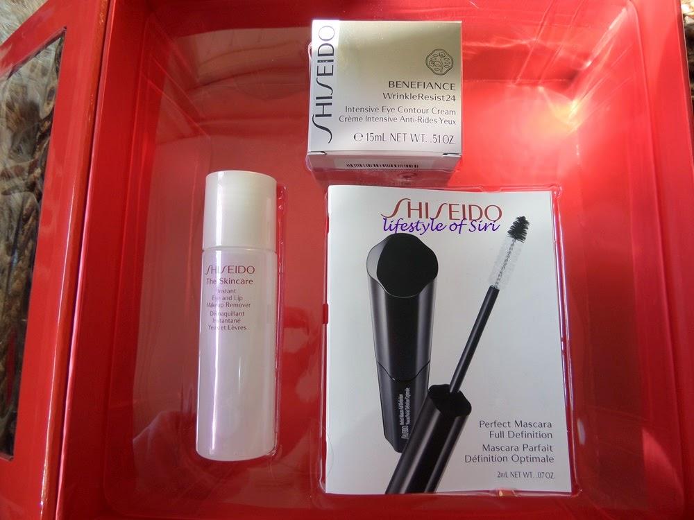 shiseido 2013 yılbaşı seti
