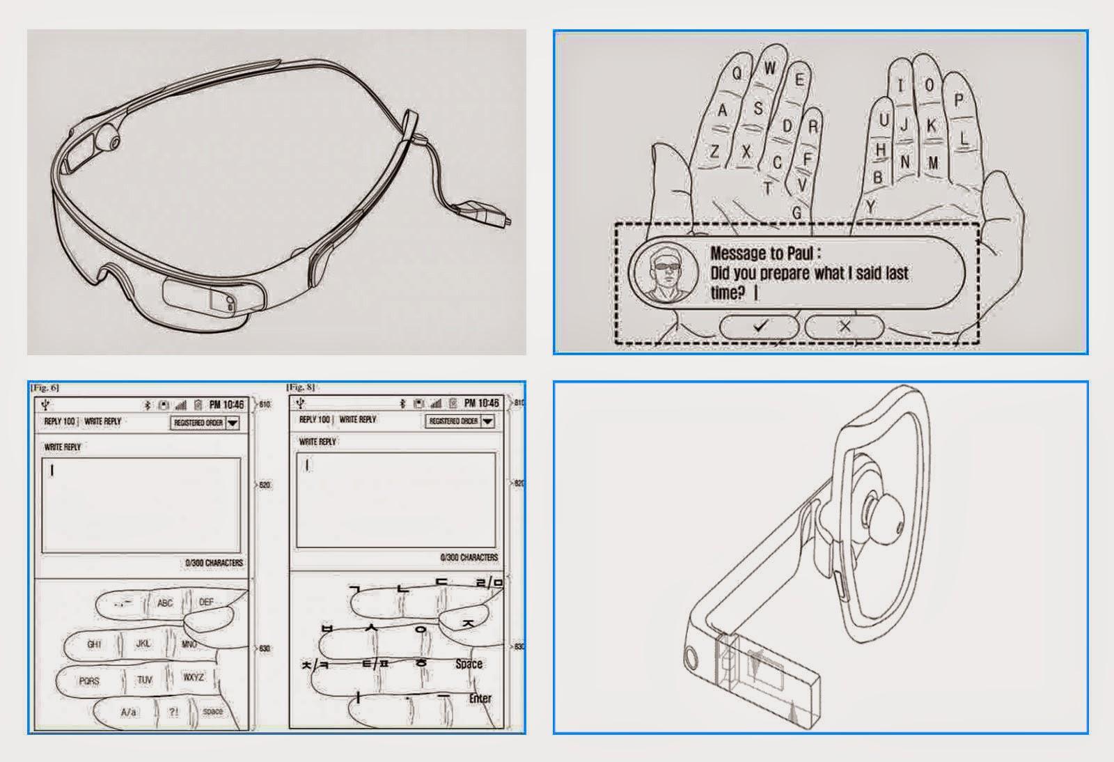 Konsep Kecanggihan Luar Biasa Tizen Gear Blink (Glass), Kacamata Pintar Samsung!