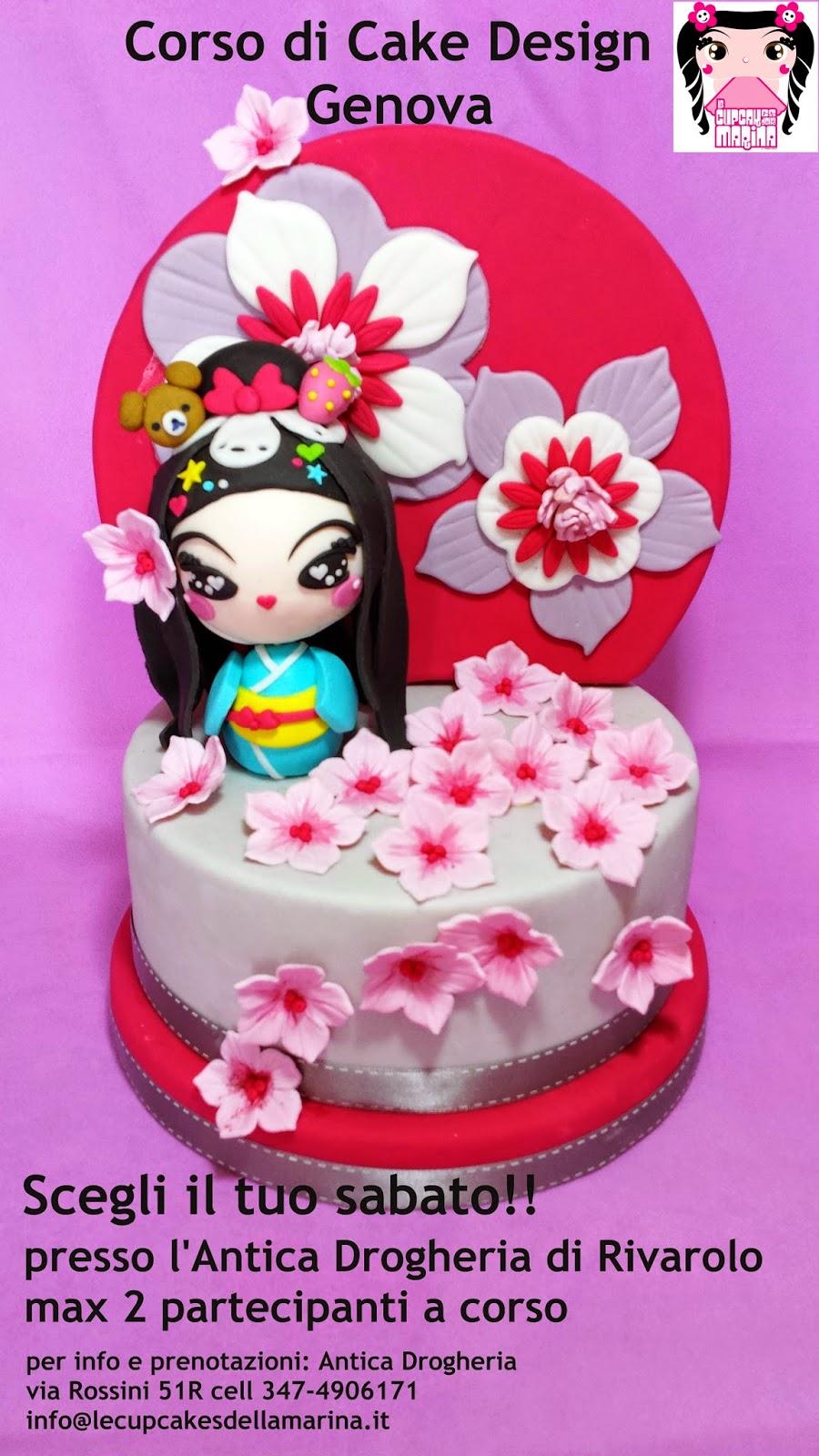 Corso Di Cake Design Ragusa : Le Cupcakes della Marina: Corso Cake Design genova 14 15 ...