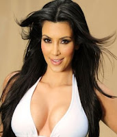 Kim Kardashian pechos