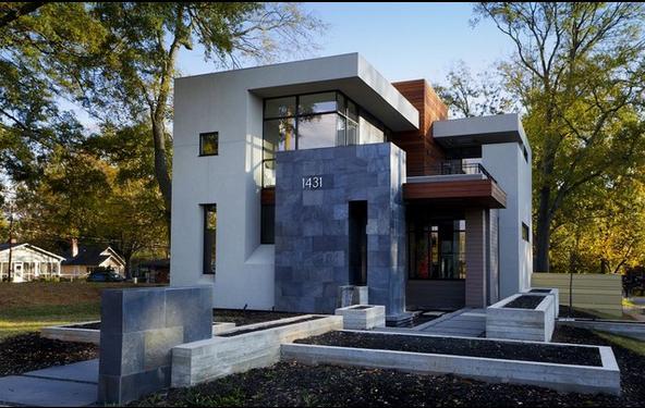 Fachadas casas modernas fachada de casas con piedras for Fachadas de casas modernas con piedra