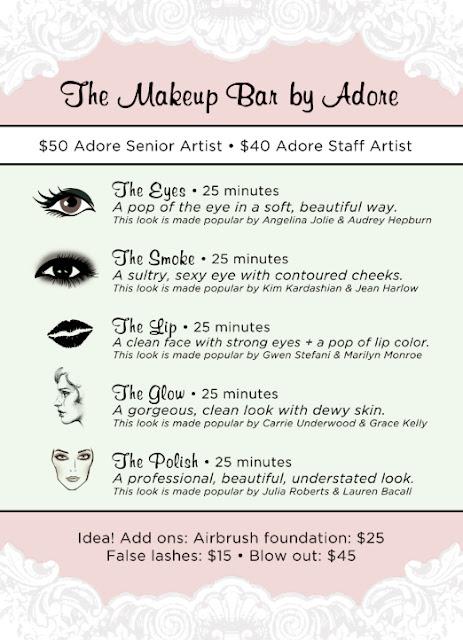 Adore Makeup Boutique + Salon Austin Daily Deals And Discounts | LivingSocial