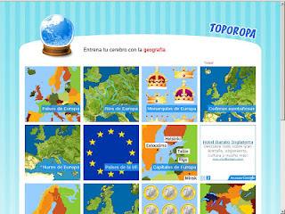 Europ Junior  La Unin Europea contada a los nios Geografa