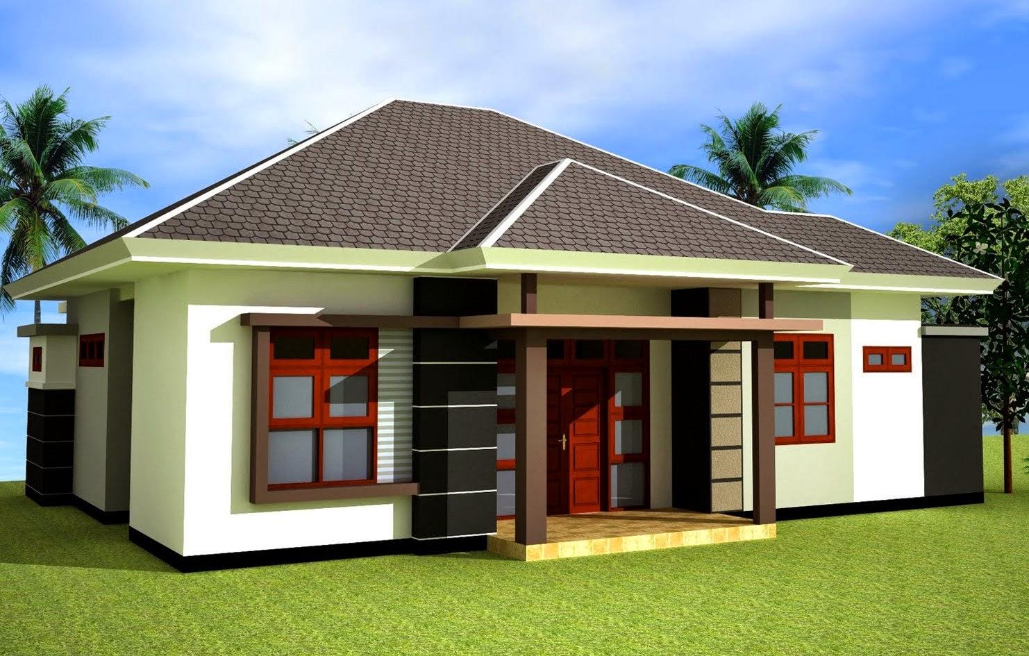 rumah minimalis dan denahnya