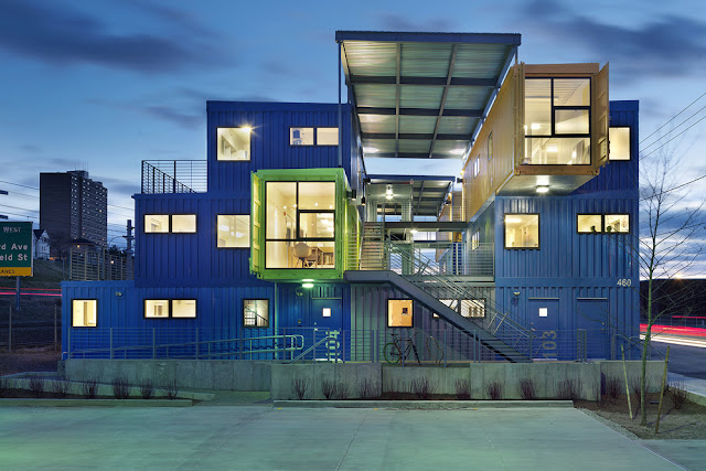 Shipping container office building Office Interior Shipping Container Office Building Cohen Carnaggio Reynolds Boc Shipping Container Office Building The Box Office By Distill