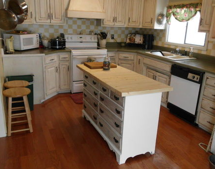 Kitchen Island From Dresser