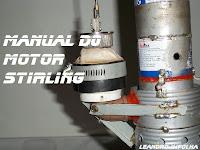 Manual do motor Stirling, pistão de trabalho feito com balão