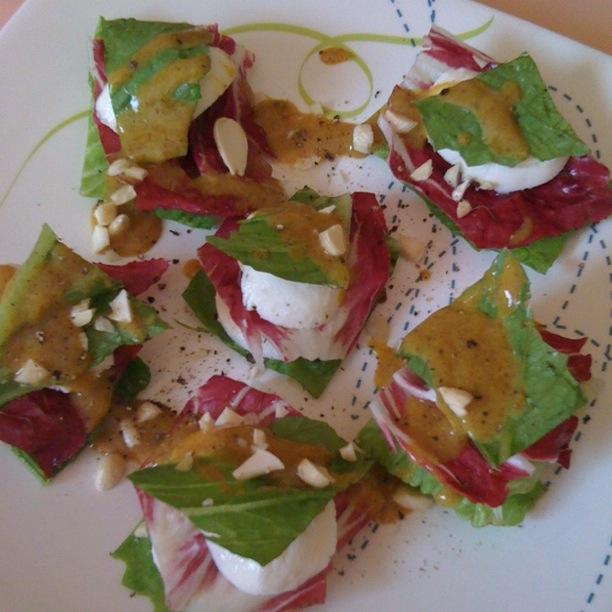 Cocina r pida sencilla y buena ensalada de radicchio y for Cocina rapida y sencilla