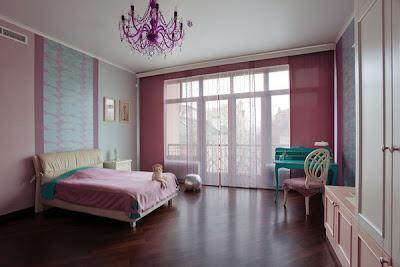habitación para chica romántica