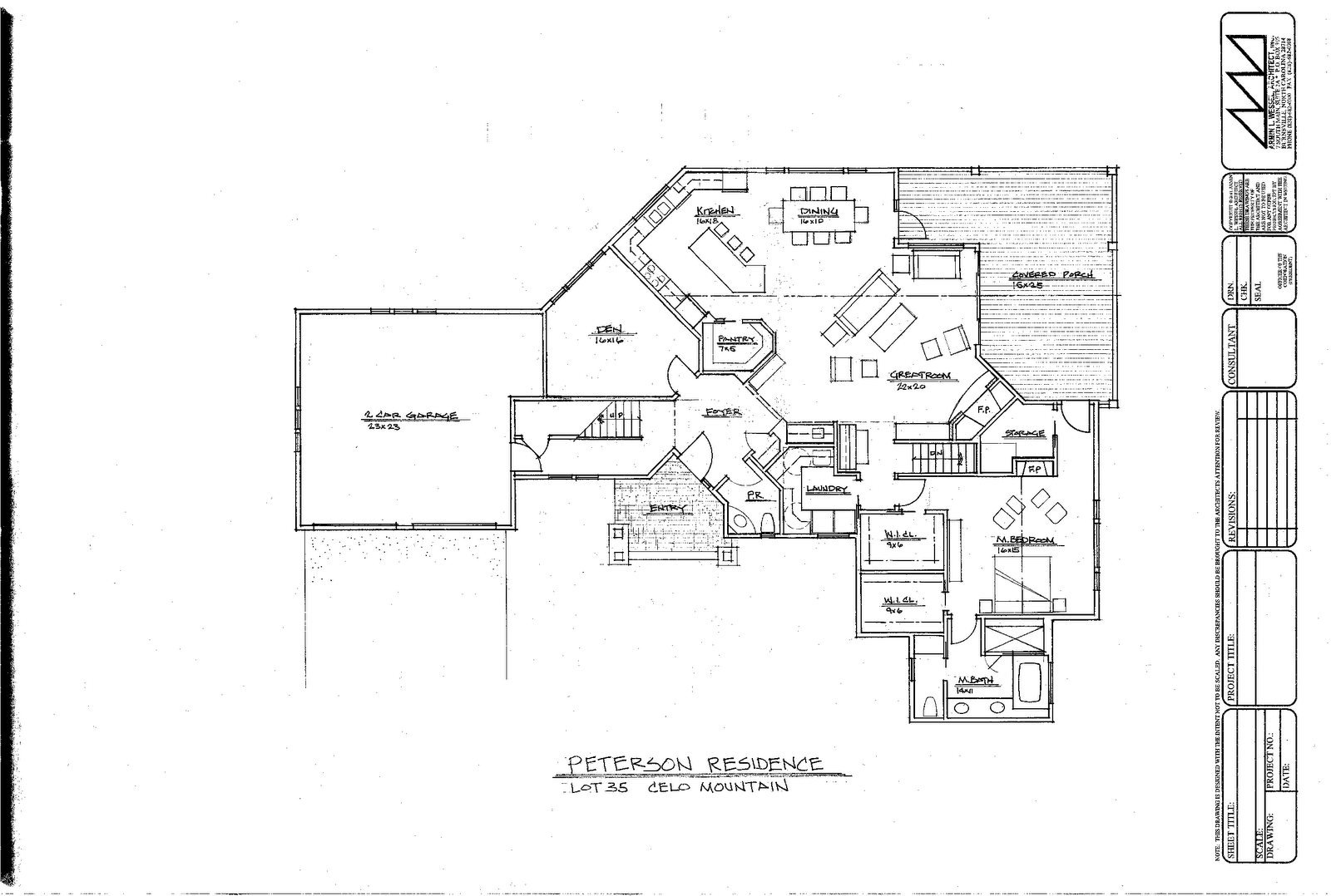 The cove at celo mountain blog architectural design Architectural floor plans