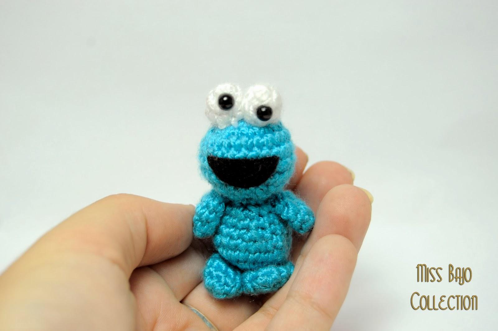 Monstruo de las galletas de amigurumi | Miss Bajo Collection