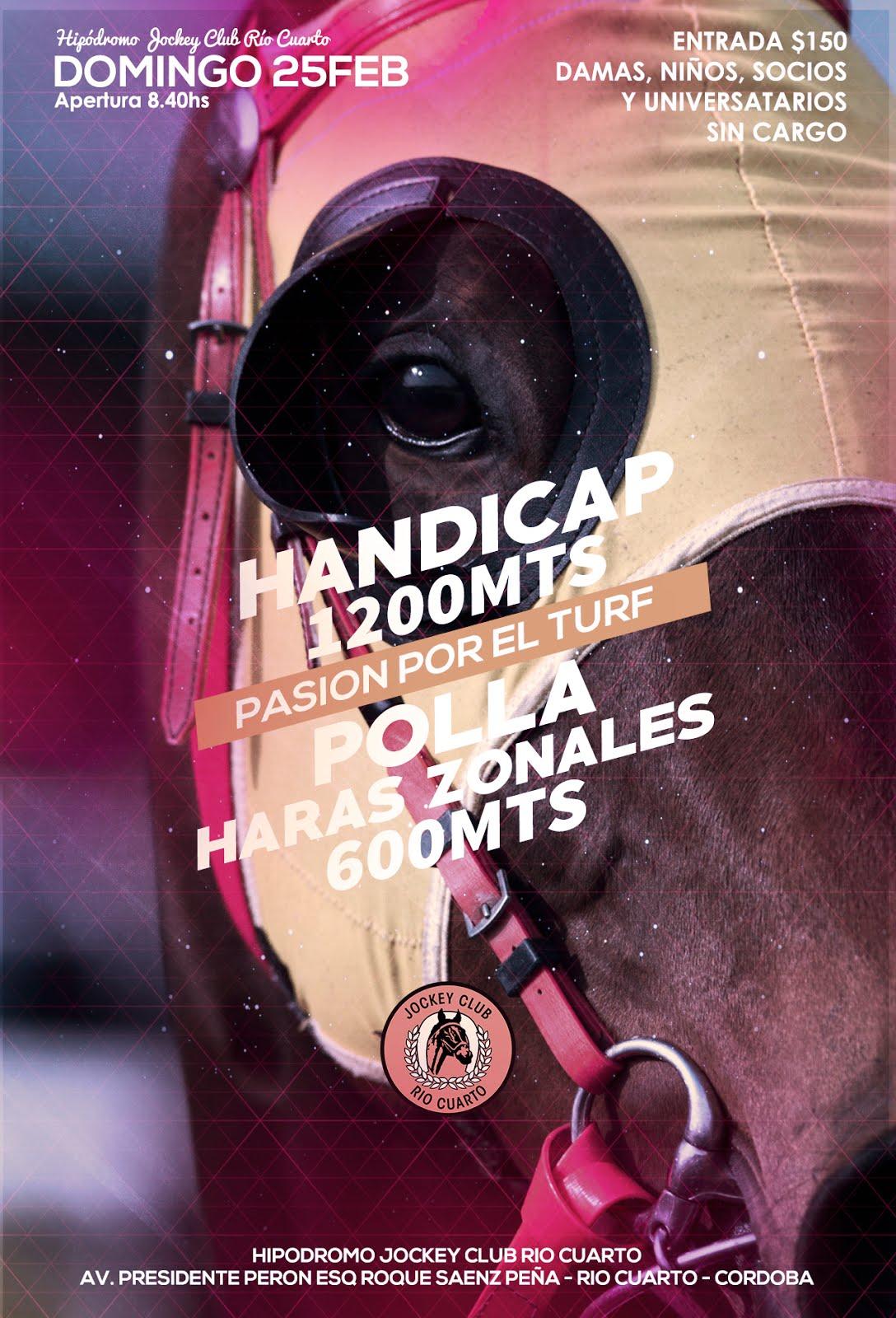 25 de febrero / La segunda del año / Jockey Club Río Cuarto