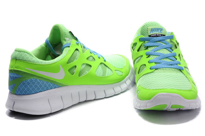 Nike Free Run  2 Barefoot Running Shoes Black 443815 010   MENS