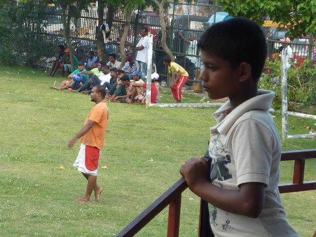 le cricket au Sri Lanka