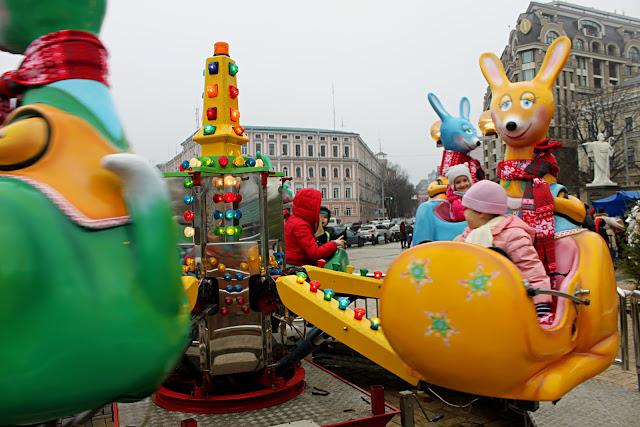 Карусель на Михайловской площади