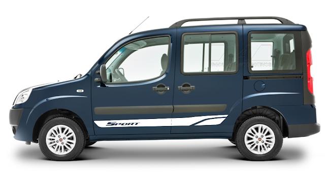 Kit adesivo para Fiat Doblò modelo Sport