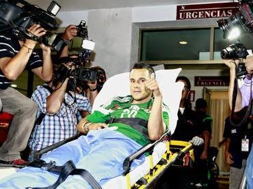 La lista negra: los lesionados para el Mundial Brasil 2014
