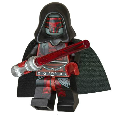Darth Revan exclusive minifigure
