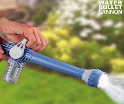 Pistola de agua a presi n water bullet cannon accesorios for Accesorios jardin
