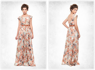 modelo de vestido longo estampado para baixinhas - looks, dicas e fotos