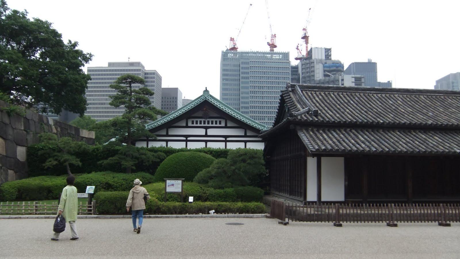 Anne laure au japon 14 me jour tokyo et le jardin imp rial for Le jardin imperial marines de cogolin
