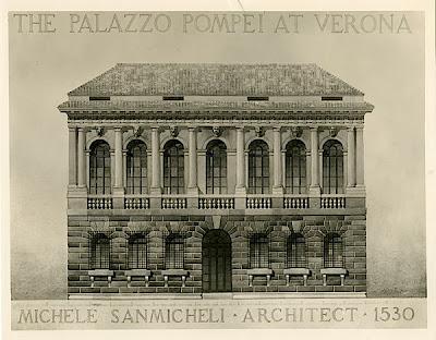 Верона.  Палаццо Помпеи