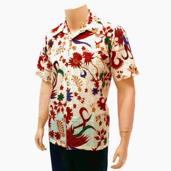 Pakaian Kemeja Batik pria